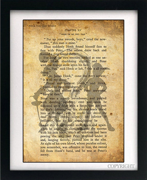 Captain Hook Quotes Peter Pan Book Peter Pan And Captain Hook Art