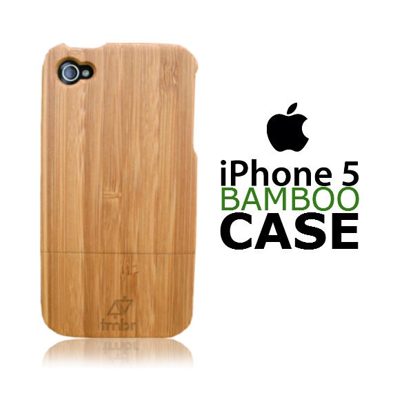 Iphone 5 Case Wood Pre-Order Handmade Quality Bamboo Cover FREE SHIPPING in the US
