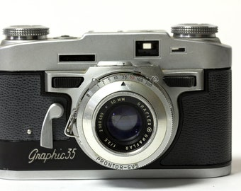 Graflex Graphic 35 Rangefinder Camera