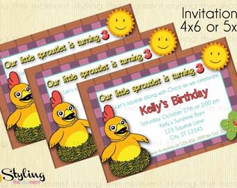 Chica Invitation