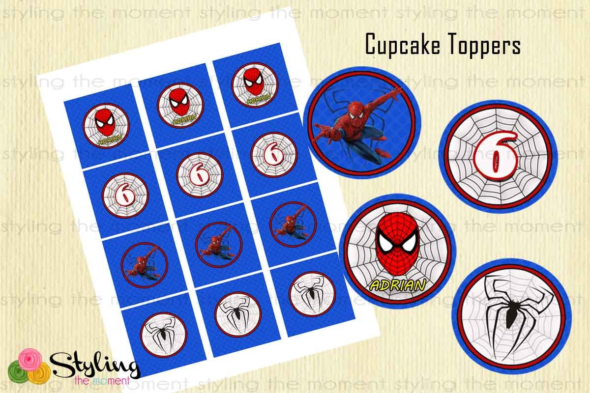 Spiderman Cake Toppers Singapore