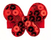 Stella Butterfly Hairclip -  red butterfly