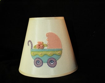 Lamp shade for baby's nursery
