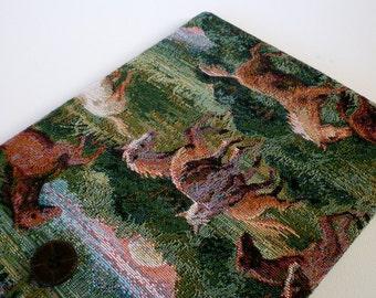 "iPad PRO 9.7 Case, 8""-10"" Custom Tablet Case iPad Sleeve iPad Air Cover-Shock Absorbent Foam Padding - Designer Fabric - TAPESTRY / Handmade"