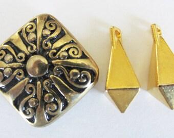Vintage Pendant Set of 3