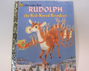 Rudolph the Red-Nosed Reindeer Golden Book - Christmas Book, Children's Book, Story Book