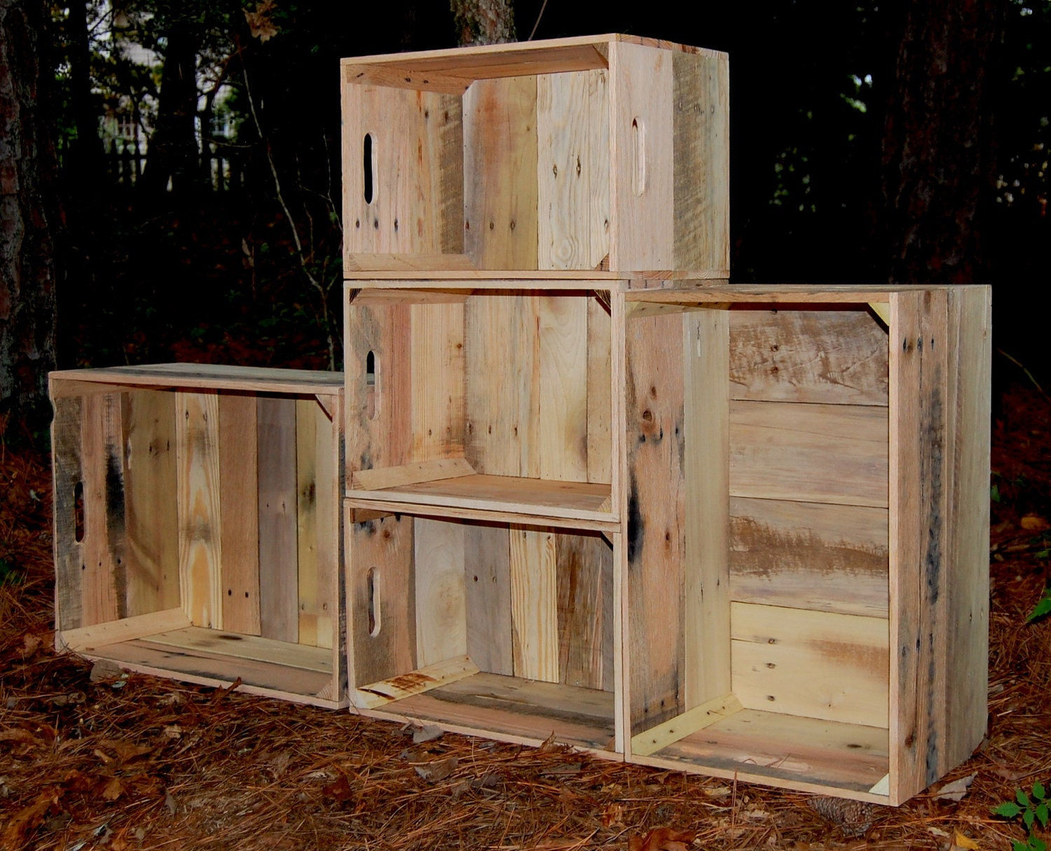 Woodwork Unfinished Wood Crate PDF Plans