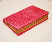 River Song's Journal / Tardis Journal in Pink-100 PAGES (200 back and forth)