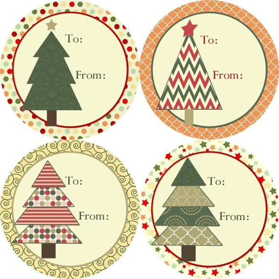 Charming Christmas Gift Label Stickers Part - 2: Like This Item?