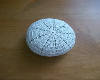Crochet covered sea stone no:2 handmade by Arzu