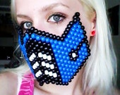 CUSTOM Gatecrasher Kandi Mask for David 'PRINTplusPAPER'
