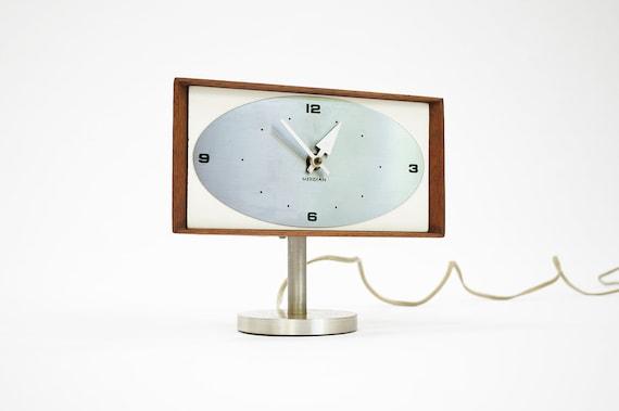 RESERVED - Original George Nelson & Associates Mid-Century Desk Clock