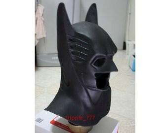 Halloween mask, Halloween costume & Cosplay mask, Movie Prop, Halloween decor horror mask Sideshow Latex Cowl Suit Batman Dress Forever LA01