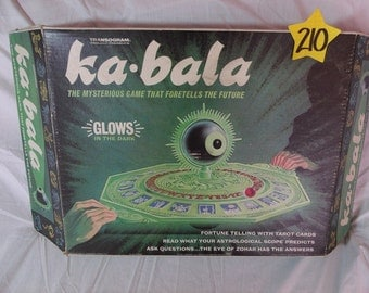 1960's Transogram Kai Bala game