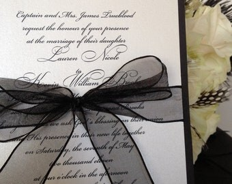 SAMPLE- Simple Elegance Invitation