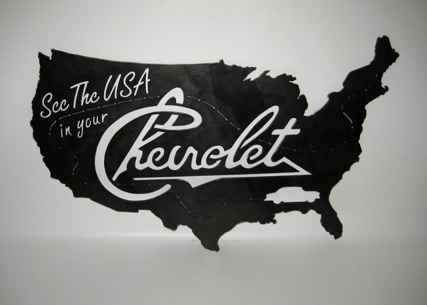Worksheet. ON SALE See the USA in your Chevrolet Sign Steel Handmade