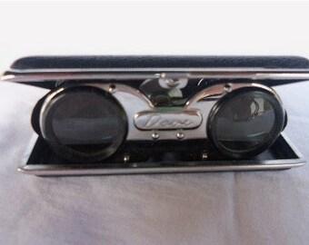 2 Antique/Vintage 1950's DOVE Folding Opera Glasses or Binoculars New Old Stock Original Boxes
