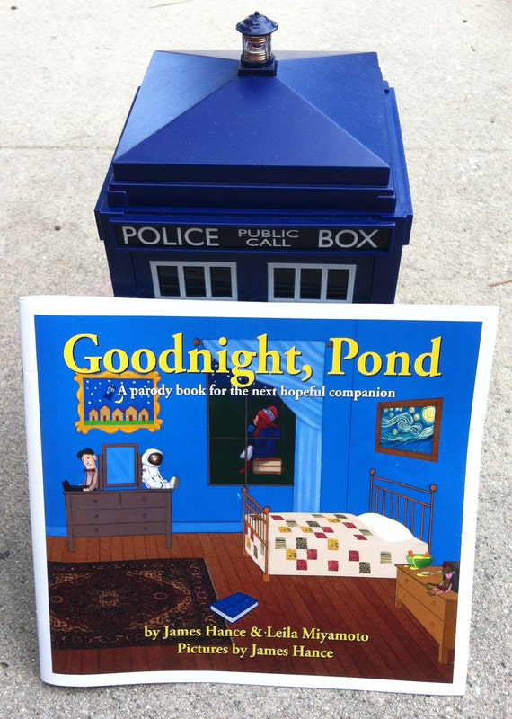 Goodnight, Pond - A Full Color Parody Book For The Next Hopeful Companion, by James Hance & Leila Miyamoto