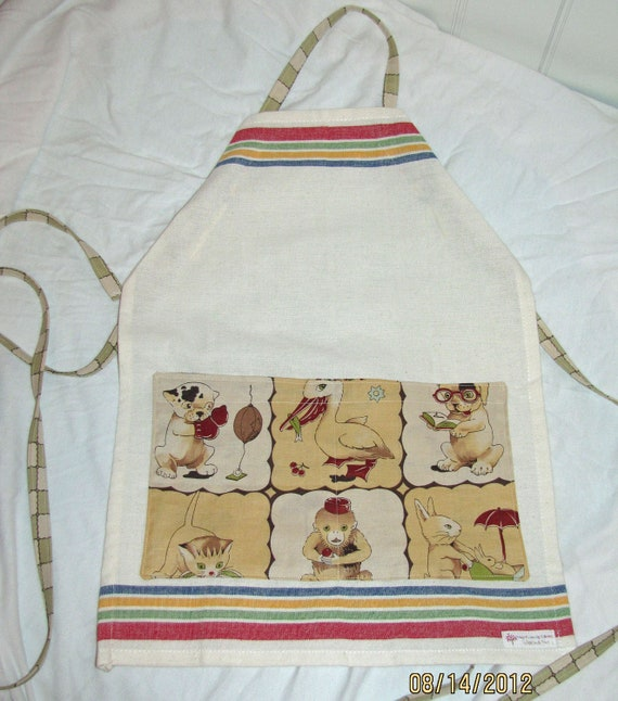 SALE Lil Rascals Kids Full Apron with pockets