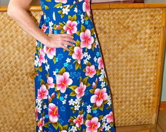 Vintage Hawaiian Ui-Maikai Hawaiian MuuMuu Dress