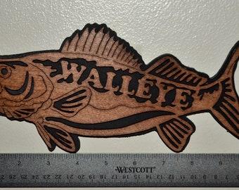 Walleye Wall Plaque