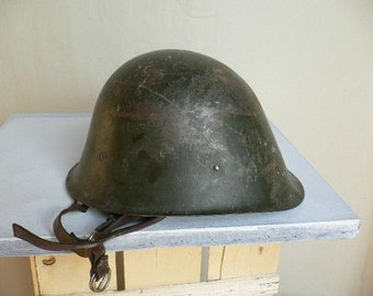 Rare Romanian Army Helmet, military helmet WW2 ...