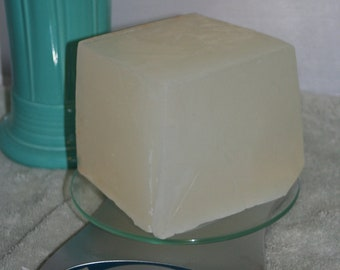 2 lbs of Natural Detergent Free Melt & Pour Glycerin Soap Base clear