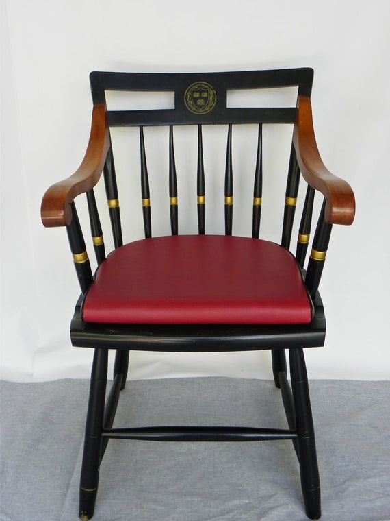 15 Off Black And Red Nichols Stone Classic Harvard Chair
