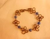 Copper Bracelet,Copper Wire Bracelet,Wire Wrapped Bracelet,7 Inch Bracelet,Handcrafted Bracelet
