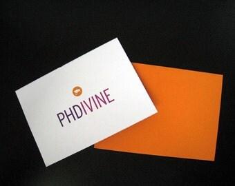 Doctor of Philosophy (PhD) Card
