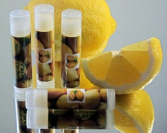 Natural Lip Balm | Natural Chapstick | Chapstick Favors | Lip Balm Favors | Party Favors | Wedding Favors | Birthday Favors | Spa Gift Ideas