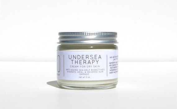 Greek Cold Cream with Kelp: Dry Skin Lotion