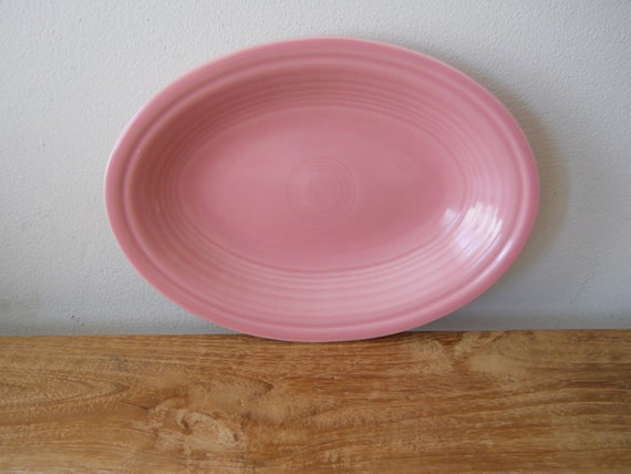 Rose Fiesta Oval Platter