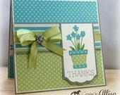 Flower Pot Thank You Card