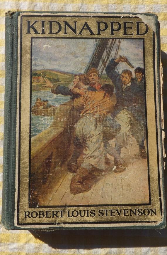 Kidnapped robert louis stevenson book