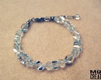 Crystal Clear bracelet (B-05)