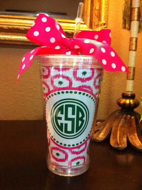 Ikat Personalized Cup
