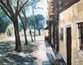 Tree-lined Havemeyer St., Brooklyn, NY