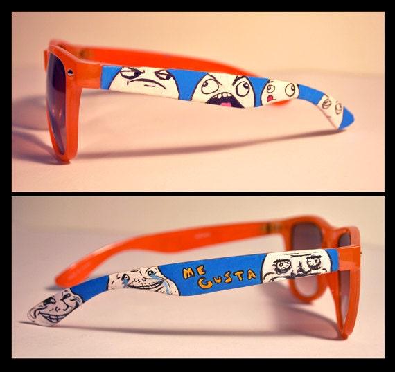 Meme sunglasses by MobyKicks on Etsy