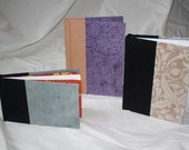 Handmade, hardcover, blank book/journal