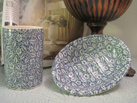Crabtree Amp Evelyn Masons Bathroom Tumbler And Soap Dish