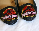 Jurassic Park Glitter Shoes