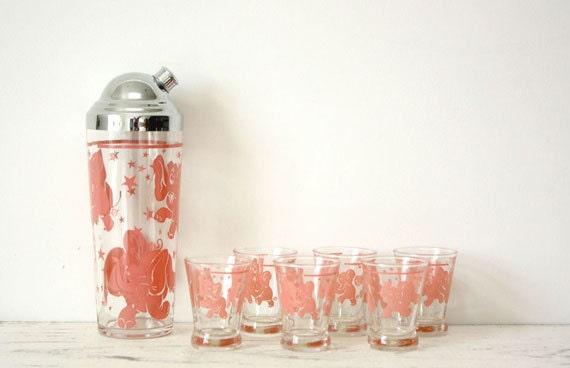 Elephant Cocktail Shaker