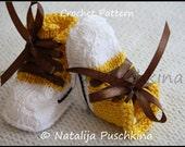 Knitting pattern (PDF)  Babies Shoes Socks Baby Booties Boy & Gilr