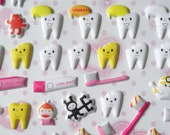 30% off. Enter Coupon Code JULYSALE at Checkout. 76 Funny Happy Teeth Kawaii Puffy Stickers imported from Asia