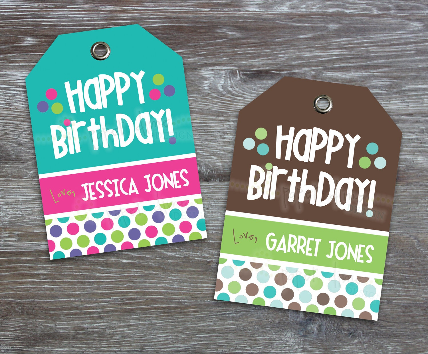 It is a photo of Sizzling Happy Birthday Tag Printable