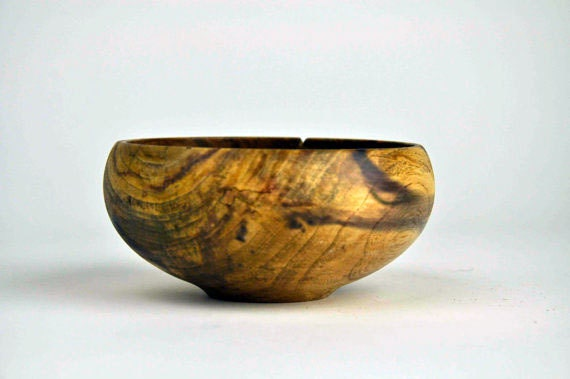 The Rust Shack - Turned Spalted Elm Bowl