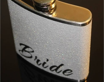 Bride Flask, Bride Gift,  Personalize