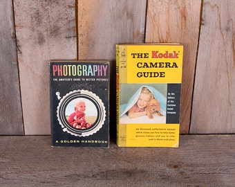 1950s Pair Kodak Photography Guide Golden Handbook of Photography