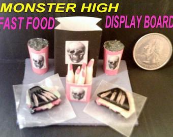 monster high doll etsy. Black Bedroom Furniture Sets. Home Design Ideas